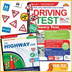 Get the Latest edition of driving theory test 2013 Theory Test Revision, Theory Test Questions, Hazard Perception Test, Driving Theory Test, Drive Book, Driving Teen, Teen Driver, Learning To Drive, Study Materials