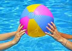 Here are 5 games that are perfect for adults to play in the #pool! #summer2014