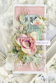 14 Craft Bar: For My Beautiful Friend... Shabby Chic Cards, My Beautiful Friend, Shaped Cards, Flower Quotes, Scrapbooking, Vintage Shabby Chic, Card Tags, Decorating Blogs, Flower Cards