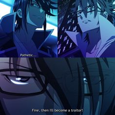Another intense episode...  Ok. actually I like the last scene but also it broke my heart... Fushimi is my favourite character and I can't believe he can really betray his team. Saruhiko I believe in you. Don't. Please. Don't. Not again.