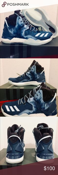 New Adidas D Rose 7 Blue Basketball Shoes Boost 🎉New Adidas D Rose 7 Boost🎉  Size 10.5  Very great looking basketball shoes with amazing comfort. Don't end up paying those high prices when you can get them for an affordable price.  🚫No refunds 🚫No low ballers 💯Authentic   NMD, AVD, EQT, Mastermind, Primeknit, original, all stars, Bape, Ultraboost, tubular, Zx flux, adidas women, adidas running shoes, women's  basketball soccer. Girly shoes NMD adidas, Jordan 1, Jordan 2, Jordan 3…