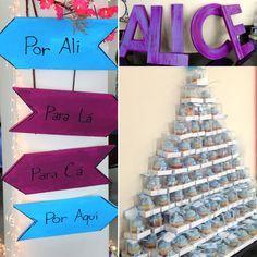 Chá Alice no Pais da Maravilhas - Festa de 1 ano