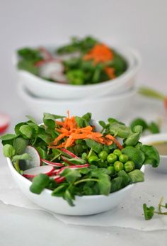 Watercress Salad with Fresh Herb Vinaigrette