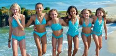 Swimsuits for tweens — modest yet hip