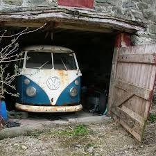 Resultado de imagen de vw t1 barn find