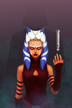 Ahsoka Tano, Kirill Suvorov on ArtStation at https://www.artstation.com/artwork/9zNlv