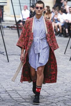 Henrik Vibskov, Spring-Summer 2018, Paris, Menswear