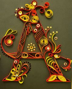 Lettera quilling