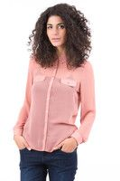 New Listing Started Nude Chiffon Blouse £9.99
