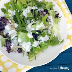 Kefir Ranch Dressing - a healthy, probiotic rich twist on a classic favorite, without the artificial ingredients.