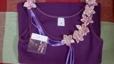MissFelicidade Lembrancinhas-Atelier da Tati: Coleção blusinhas bordadas com fuxico, acompanha u...