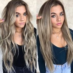 Balayage Blonde Ends - 20 Fabulous Brown Hair with Blonde Highlights Looks to Love - The Trending Hairstyle Brown Hair With Blonde Highlights, Hair Highlights, Brown To Blonde Hair Before And After, Blonde Honey, Honey Hair, Non Blondes, Chocolate Brown Hair, Light Brown Hair, Light Blonde