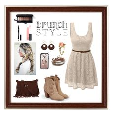 Mother's Day Brunch by helplessthing on Polyvore featuring polyvore fashion style LE3NO JustFab Chan Luu Jaeger Vintage Casetify MAC Cosmetics Yves Saint Laurent clothing mother