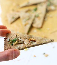 Rozemarijn & Zeezout Crackers - Oh My Pie!