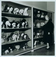 Evita Peron's hat collection, Buenos Aires, 1950