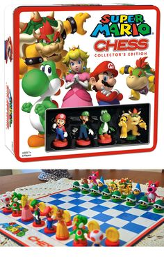 Super Mario Chess. Shut the front door.