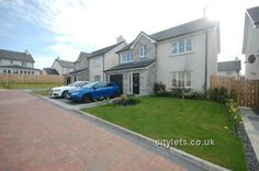 Luxury 4 bed detached house in Banchory, available to rent unfurnished