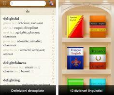 Quante volte vi siete trovati nell'esigenza di trovare una parola in una lingua straniera? L'iPhone diventa un ottimo strumento per questo scopo, anche se la maggior parte delle applicazioni per iOS richiede la connessione ad internet per funzionare. Languages, invece, è off line. L'app ha una buona grafica e presenta una libreria in grado di contenere fino a 12 dizionari. I dizionari sono scaricabili singolarmente: per esempio quello italiano-inglese-italiano pesa 16 MB. Una volta aperto…
