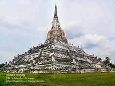 Thailand here.: วัดภูเขาทอง อยุธยา Wat Phu Khao Thong in Ayutthaya...
