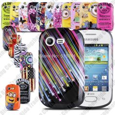 Glossy TPU Case Gel Rubber Skin Back Cover  Samsung S5282 S5283 S5280