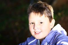 Mi hijo Thiago, 9 años. Muy hermoso. Voy a tener mucho trabajo. Amo.