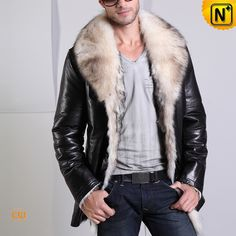 long fur lined coat | Sheepskin and shearling coats | Pinterest ...