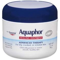 Aquaphor healing ointment...this is a cure all in dermatology. Use it instead of NEOSPORIN (very allergic) for cuts, burns, chapped skin, you name it it's for it! better than vaseline!