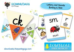 Bunting & Mats of Letters and Sounds are available to download now!  http://downloads.thepedagogs.com/?s=Letters+%26+Sounds