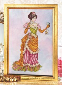 Joan Elliot - Victorian Lady. Love this!
