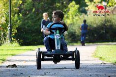 DinoCars in actiune Kart cu pedale Speedy UVSPORT