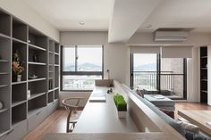 HO.SPACE DESIGN | 2 TAICHUNG APARTMENTS