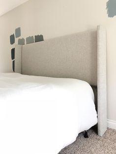 48 New Ideas diy headboard upholstered wingback master bedrooms Wingback Headboard, Upholstered Beds, Headboards For Beds, Diy Leather Headboard, Fabric Headboards, Headboard Designs, Headboard Ideas, Diy Bed Headboard, Ideas