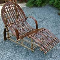 Bentwood outdoor recliner from Cornish Willow across the pond. I couldn't pin a larger pic for some reason. So visit the site.