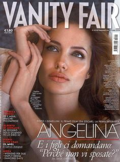 Angelina Jolie Vanity Fair cover October 2008