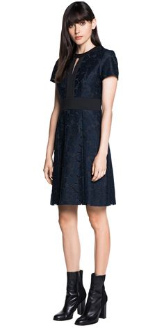 Dresses | Lace Spliced Dress