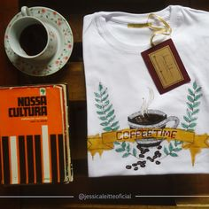 T-SHIRTS JÉSSICA LEITTE | COFFEE TIME @jessicaleitteoficial
