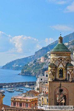 Costa amalfitana, Provincia di Salerno, Campania, Italia