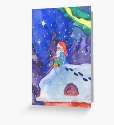 Elf Can't Sleep  Greeting Card Merry Christmas Funny, Christmas Elf, Christmas Photos, Christmas Humor, Vintage Christmas, Christmas Cards, Holiday Greeting Cards, Holiday Postcards, Holiday Photo Cards