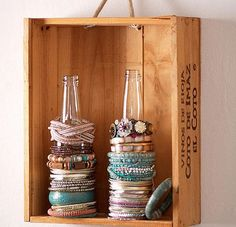 16 cool ways to organize your jewelry