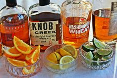 DIY Bourbon Tasting Party - I have been obsessed with bourbon for years and it has always been my