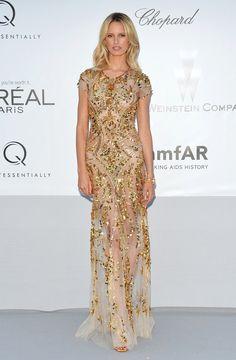 Karolina Kurkova Gold Embellished Dress <3