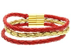Red and Gold Rope