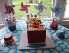 Dr. Seuss birthday party for twins