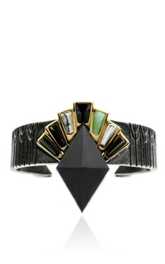 Shop Horus Cuff by Eddie Borgo for Preorder on Moda Operandi