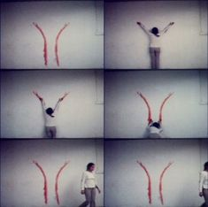Ana Mendieta Sem titulo (blood sign #2/ body tracks)
