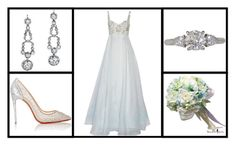"""""""Outfit # 2990"""" by miriam83 ❤ liked on Polyvore featuring Christian Louboutin, Tiffany & Co. and Notte by Marchesa"""