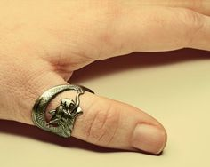 Game of Thrones Steampunk Ring  Dragon Ring by ProfessorSprocket, €9.75