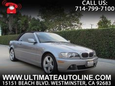 Convertible, 2006 BMW 325Ci Convertible with 2 Door in Westminster, CA (92683)