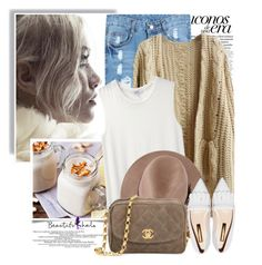 """""""Beautifulhalo.com"""" by nastyaafanasova ❤ liked on Polyvore featuring ASOS, Nomia, Chanel and Rupert Sanderson"""