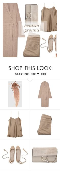 """""""neutral ground"""" by uncharged-batteries ❤ liked on Polyvore featuring Gucci, The Row, Vince, Hollister Co. and Chloé"""